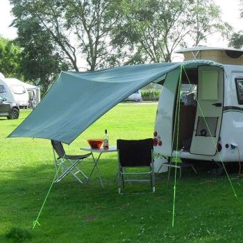 8. Go-Pods.co.uk Micro Tourer Small Caravan Go-Tarp