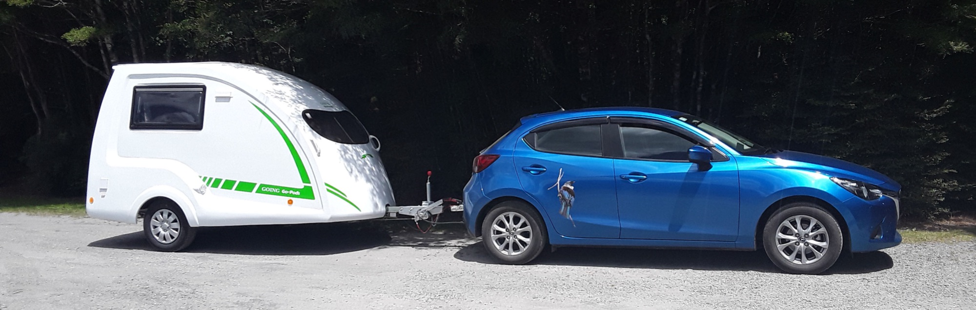 GO-POD & MAZDA 2 IN NEW ZEALAND
