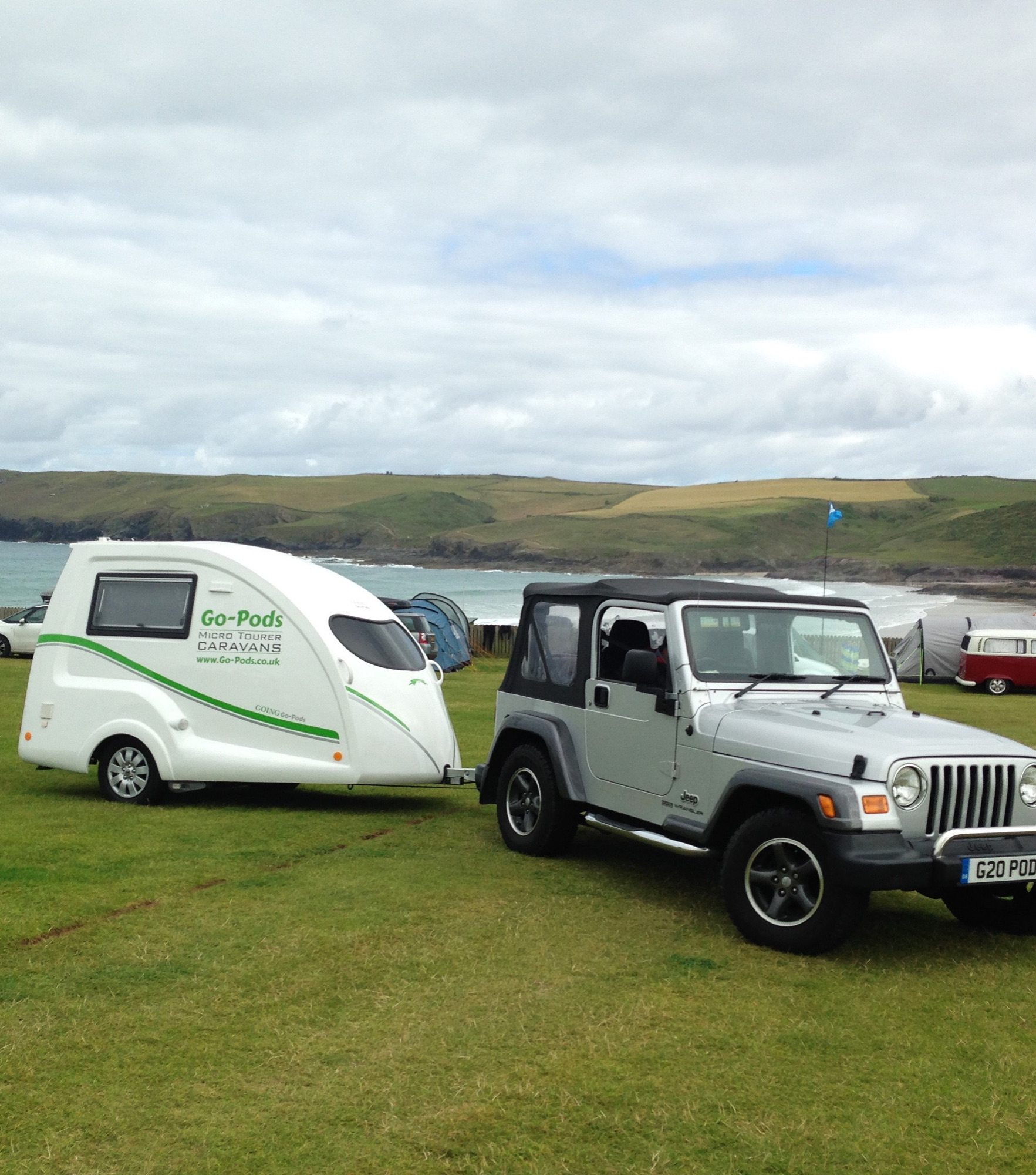 Go-Pods - the contemporary light touring caravan