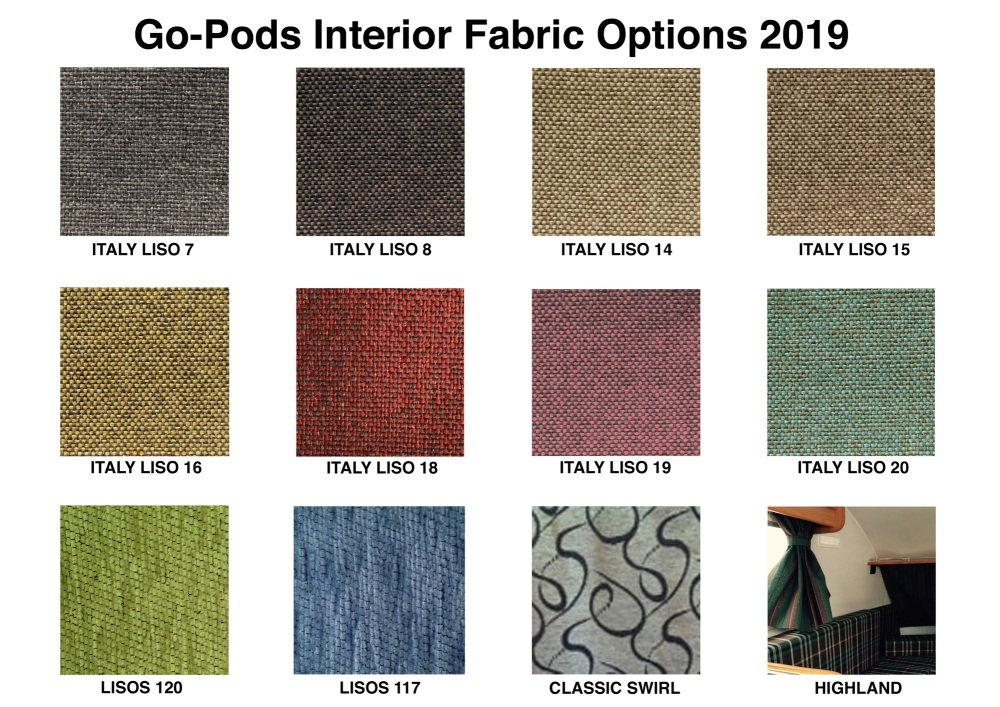 Fabric Colours 2019
