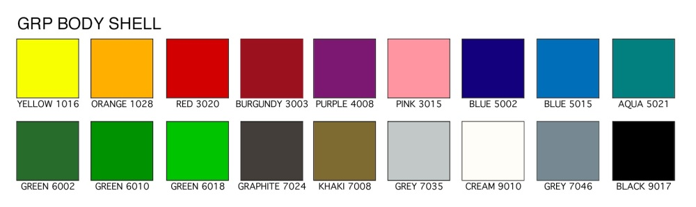 GRP COLOUR CHART 2019