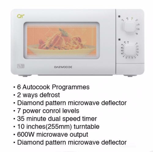 Go-Pods Microwave