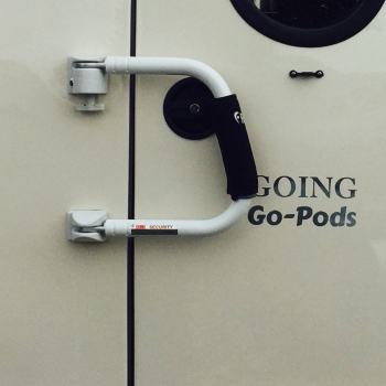 Grab Handle & Security Lock