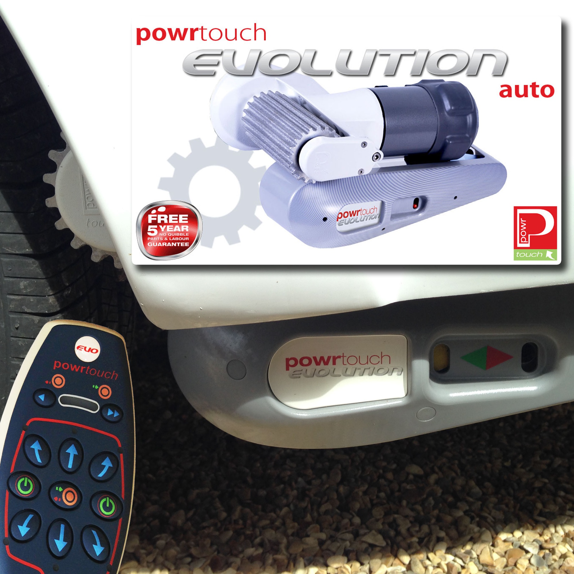 Auto Motor Mover Go-Pods