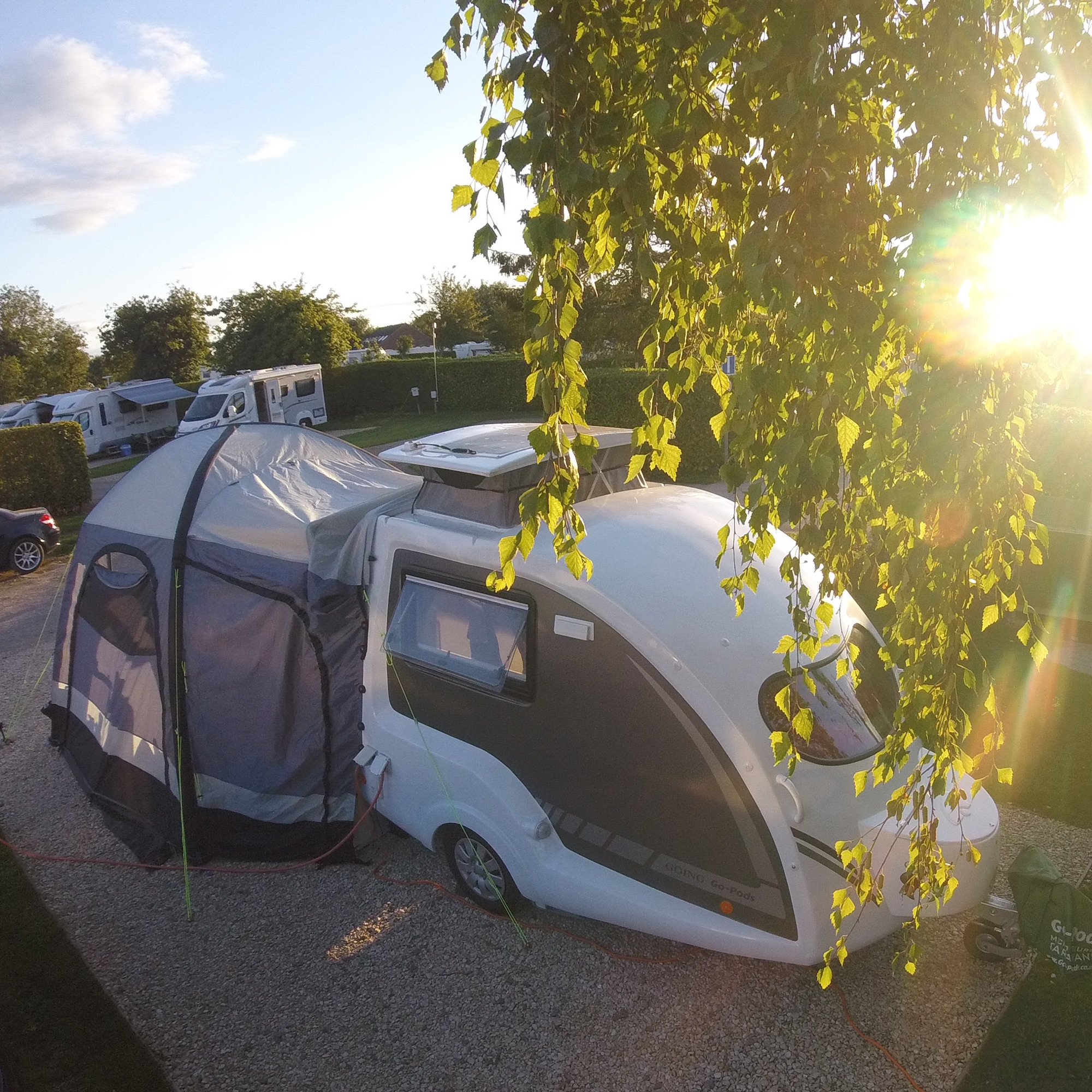 Go Pods Airbeam Awning