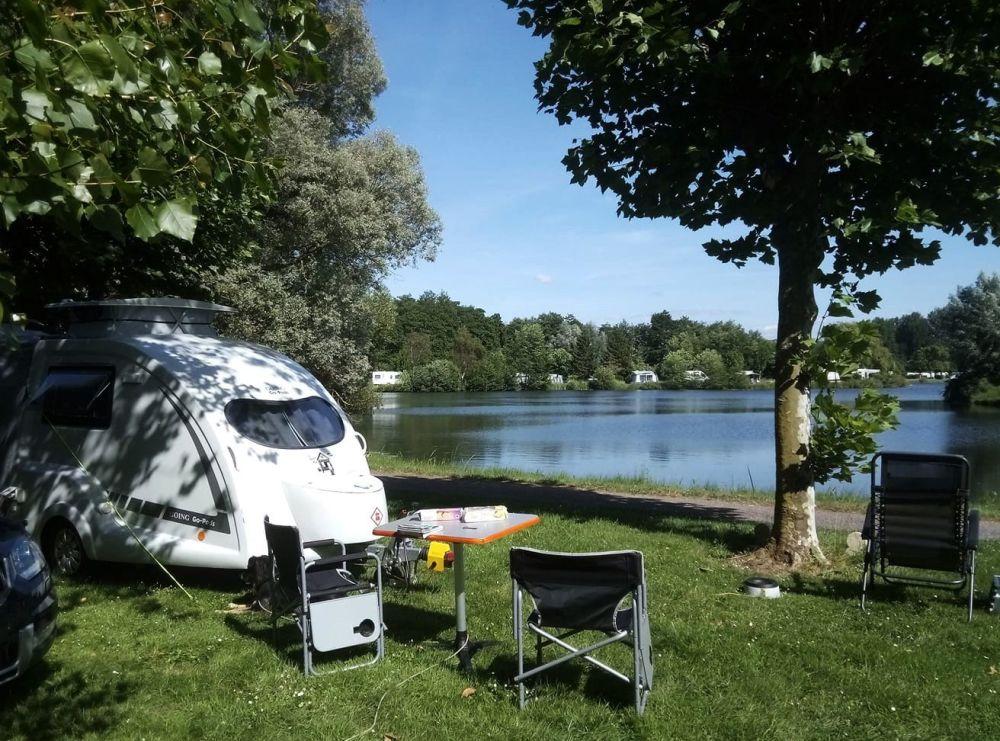 Go-Pod 2 Berth Micro Tourer Caravan - Camping by a lake, once coronavirus l