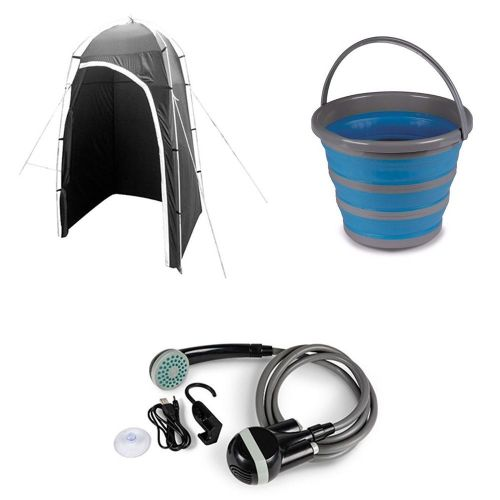 Camping Shower Bundle