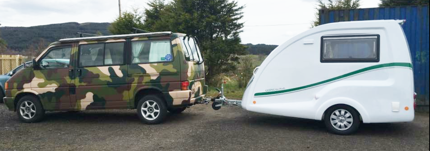 Go Pod - Camper Van Alternative 6 - Camo VW combo
