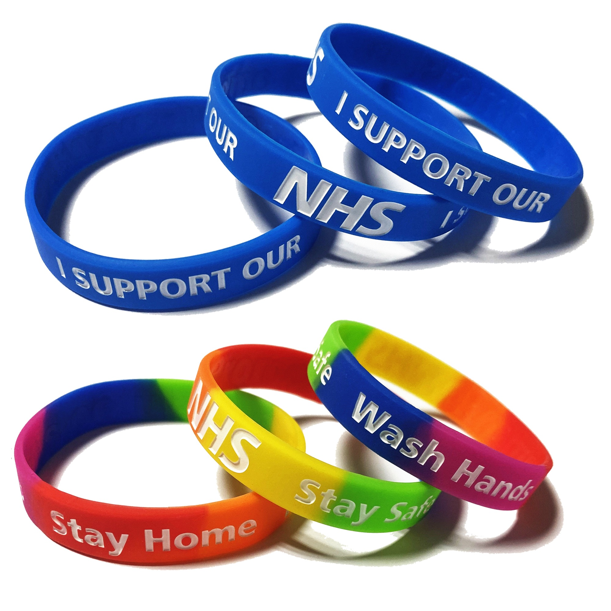 NHS wristbands