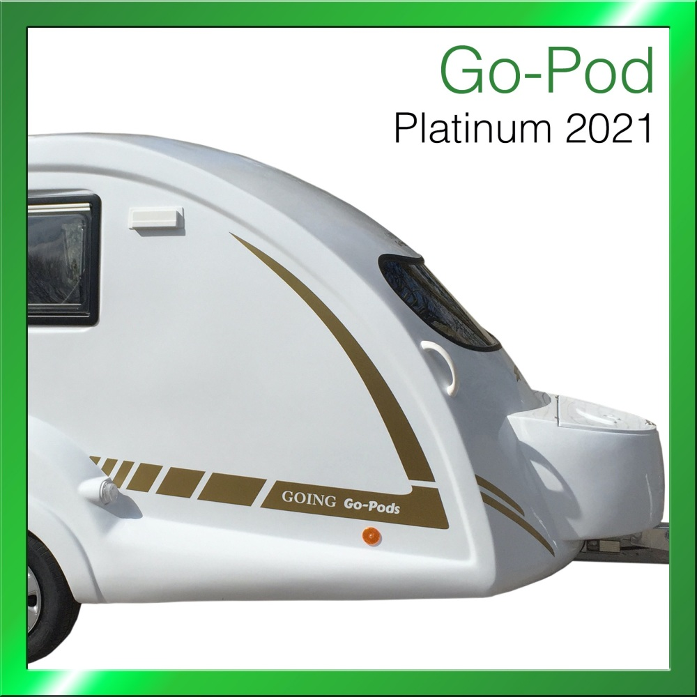 3. 2021 Go-Pod Platinum - £14,795.00 - Deposit £1000 - Balance on collectio