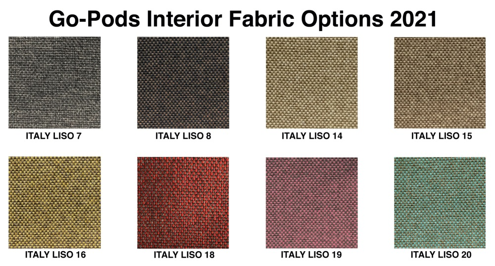 Fabric Colours 2021