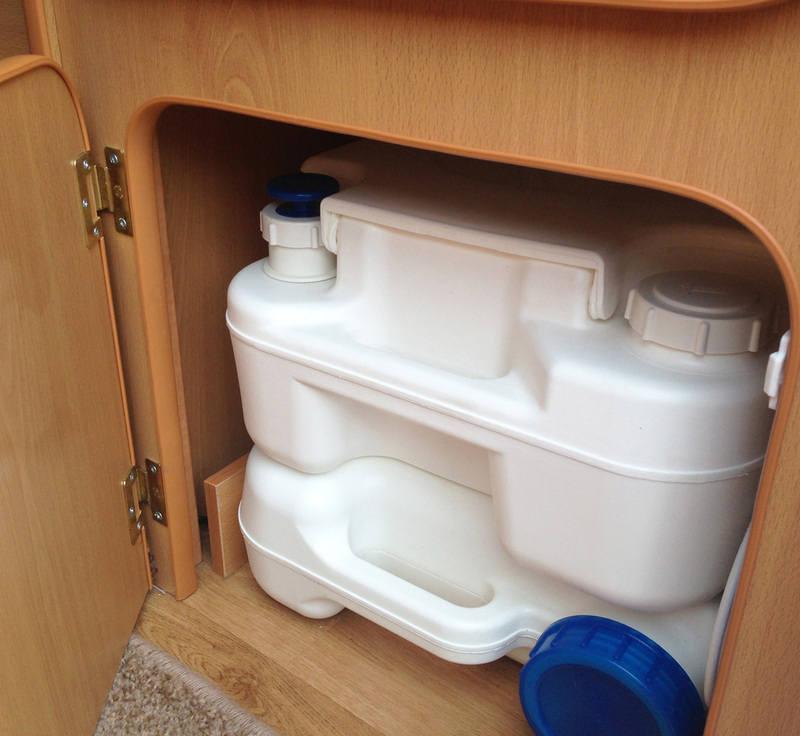 Flush Toilet Go Pods Micro Tourer Caravan