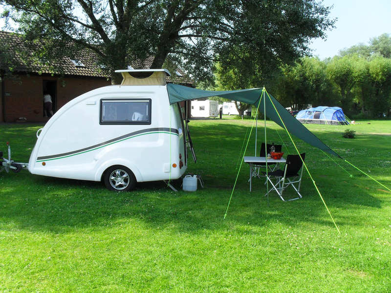 Go-Pods.co.uk Micro Tourer Small Caravan TARP 1