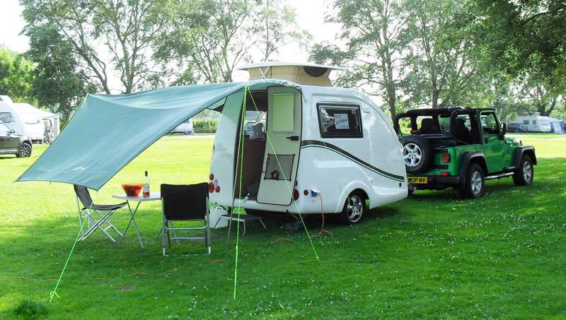 Fantastic GoPodscouk Micro Tourer Caravans Small 2 Berth