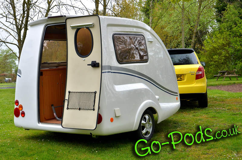 Go-Pods.co.uk. Micro Tourer Caravans. Small 2 berth ...
