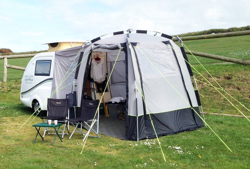 Go-Pods awning www.Go-Pods.co.uk