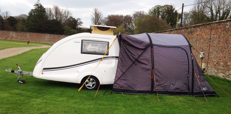 Go-Pods.co.uk. Micro Tourer Caravans. Small 2 berth ...