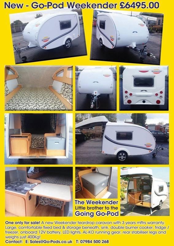 Weekender Teardrop Caravan Replaced By The Going Go Pod