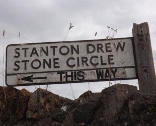 Stone Circle Sign