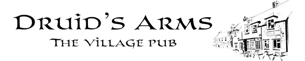 www.thedruidsarms.co.uk, site logo.