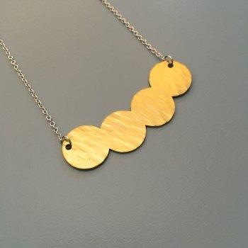 Brass Bead Style Pendant