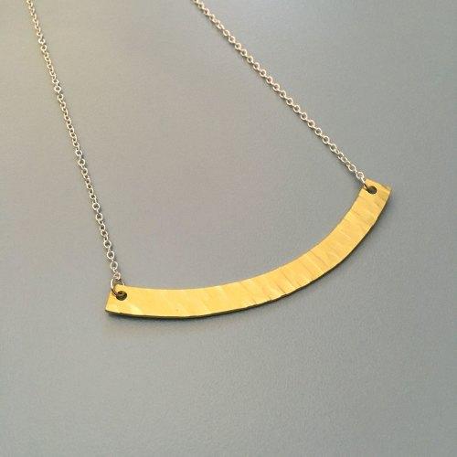 Brass Arc Pendant