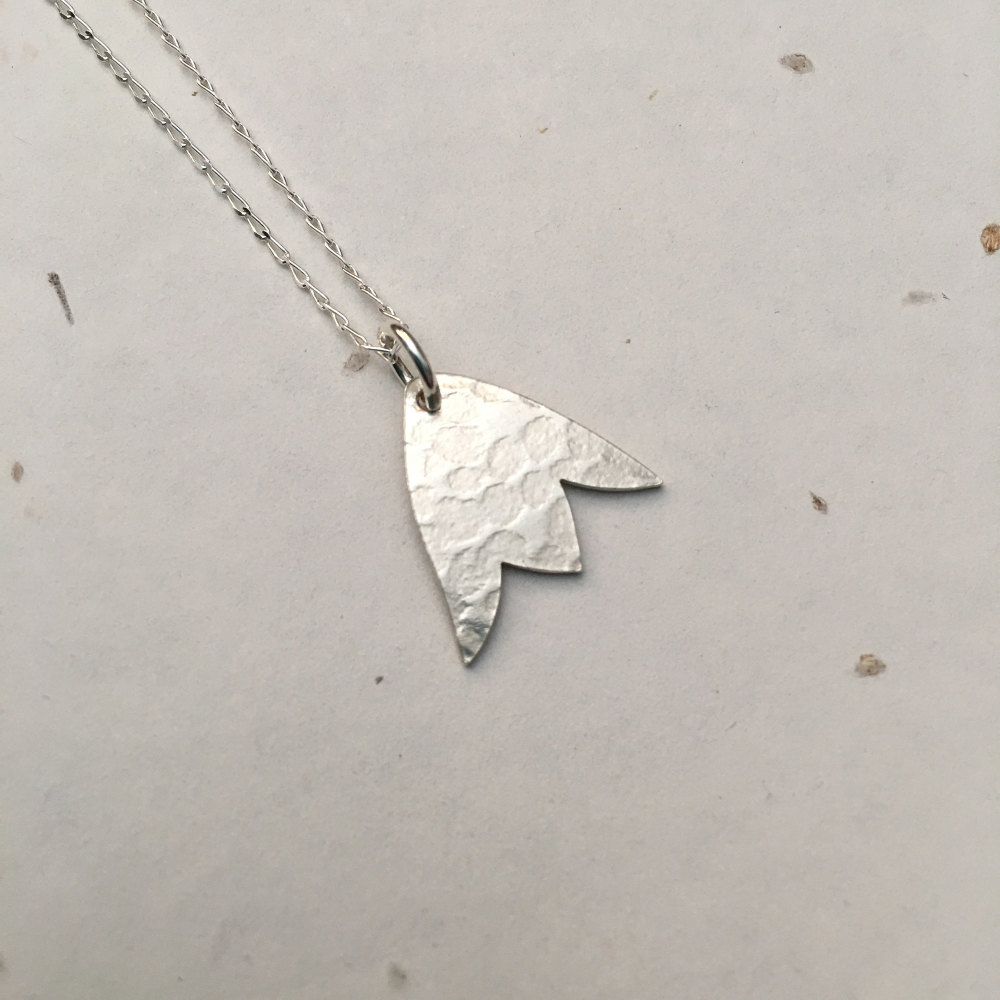 Silver Bluebell Pendant