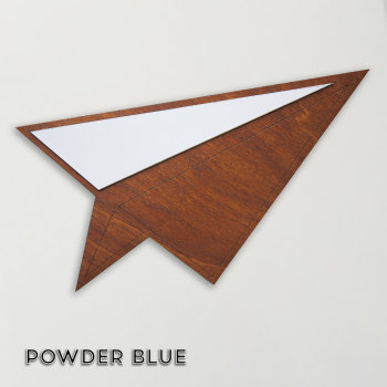 Wood & Formica 'Paper Plane' (Powder blue)