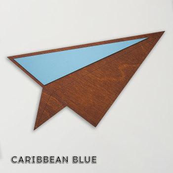 wood & Formica 'Paper Plane' (Caribbean blue)