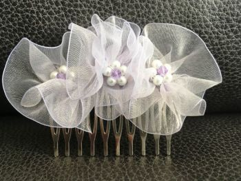 Lilac Hair Comb