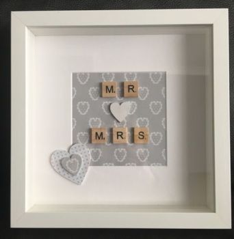 Mr & Mrs Decorative Frame