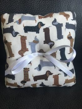 Dachshund Wedding Ring Cushion
