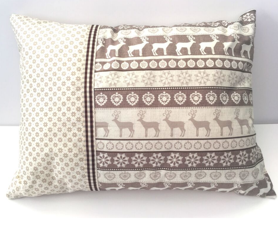 Christmas Cushion - Cream Scandi Style