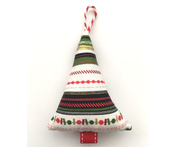 Christmas Tree Decoration - Stripes