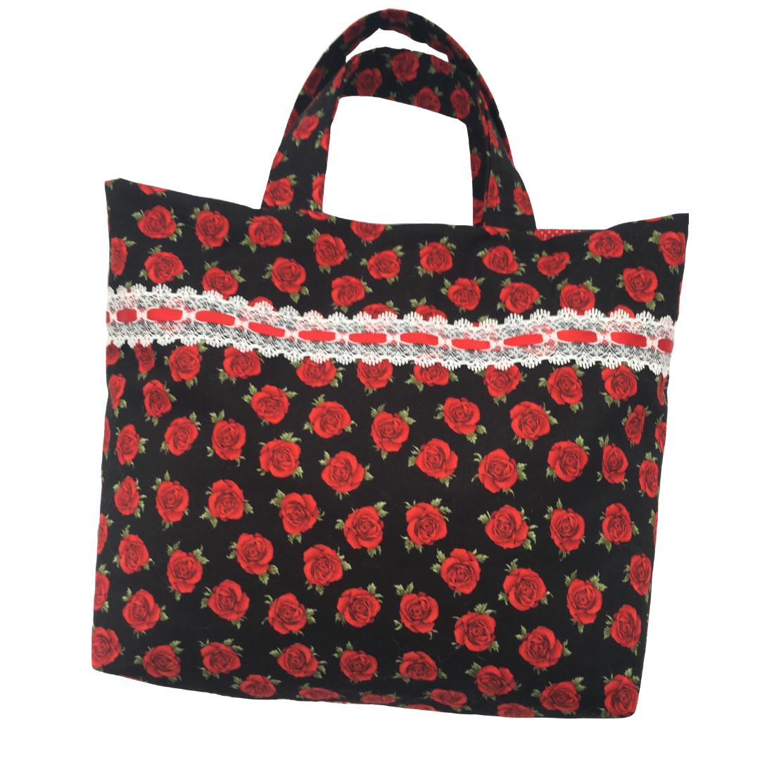 Tote Bag - Red Rose