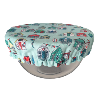 Bowl Cover - BEACH HUTS - 092