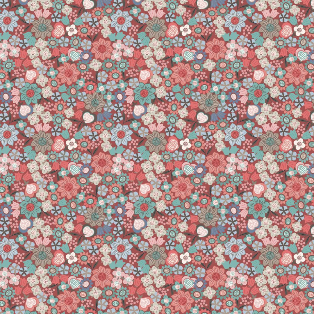 Cotton Face Mask - 094 (picture of fabric used for the mask)