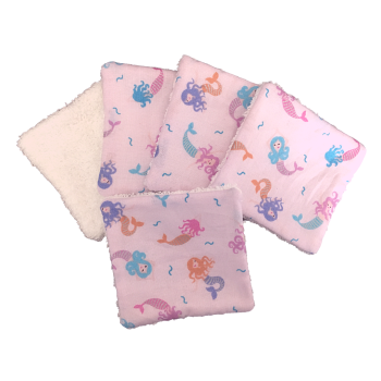 Reusable Cotton Pads - 1003 MERMAIDS