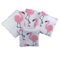 Reusable Cotton Pads - 074 FLAMINGOS