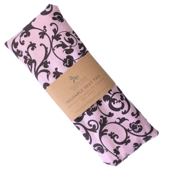 Heat Pad - Pink & Brown