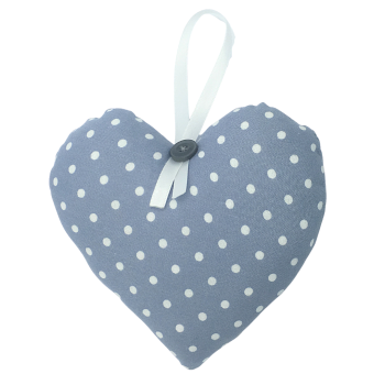 Heart - Light Grey/White Spots