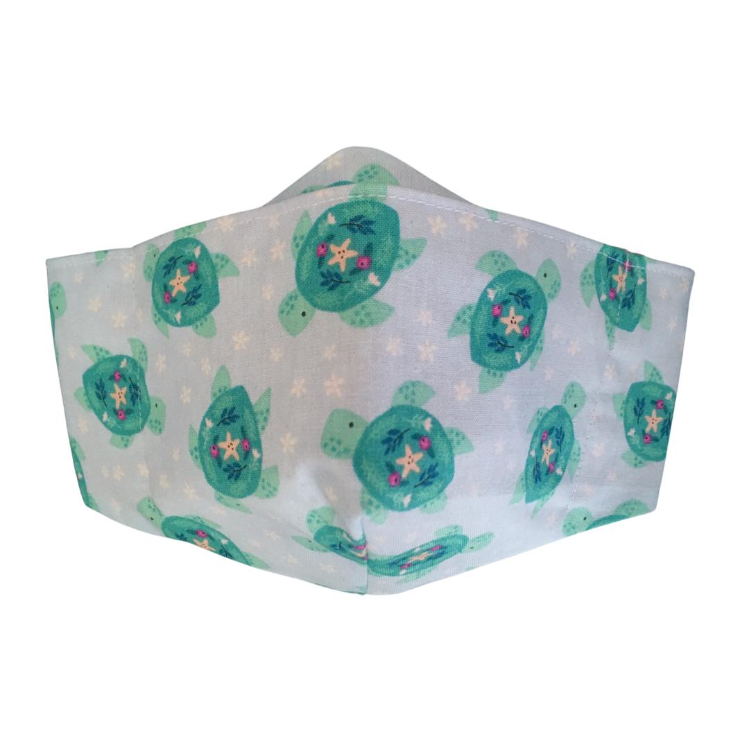 Shaped Cotton Face Mask - 140
