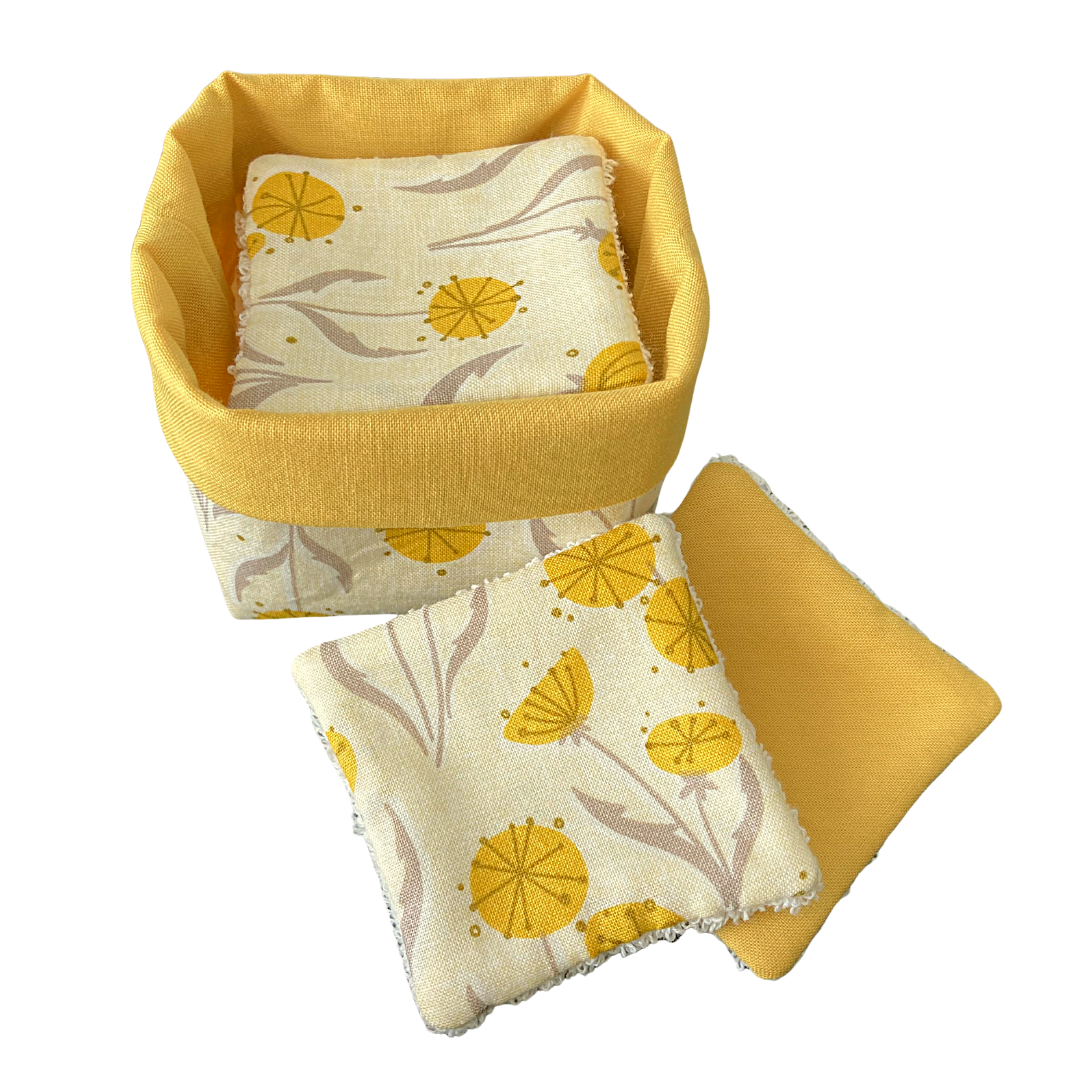 Reusable Cotton Pad and Wipe Set (148)
