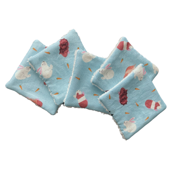 Reusable Cotton Pads - Guinea Pigs and Rabbits (129)