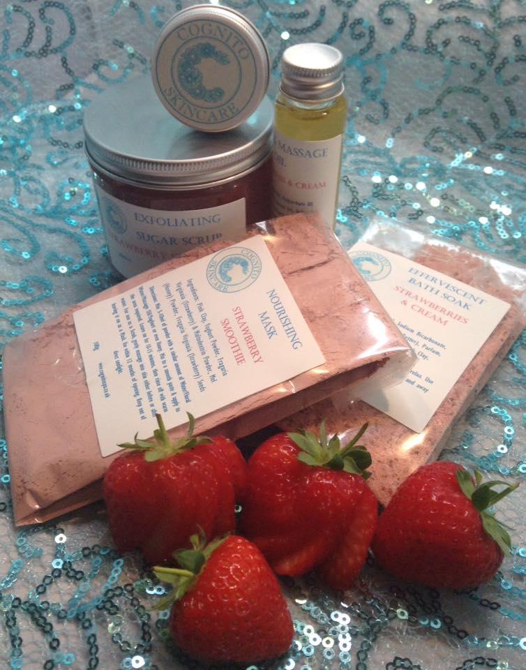 Strawberries & Cream Gift Set