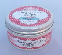 White Chocolate & Rose Moisturiser