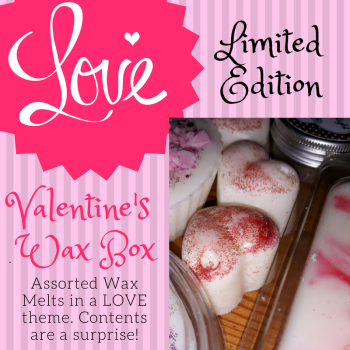 Valentine's Love Themed Wax Melt Box