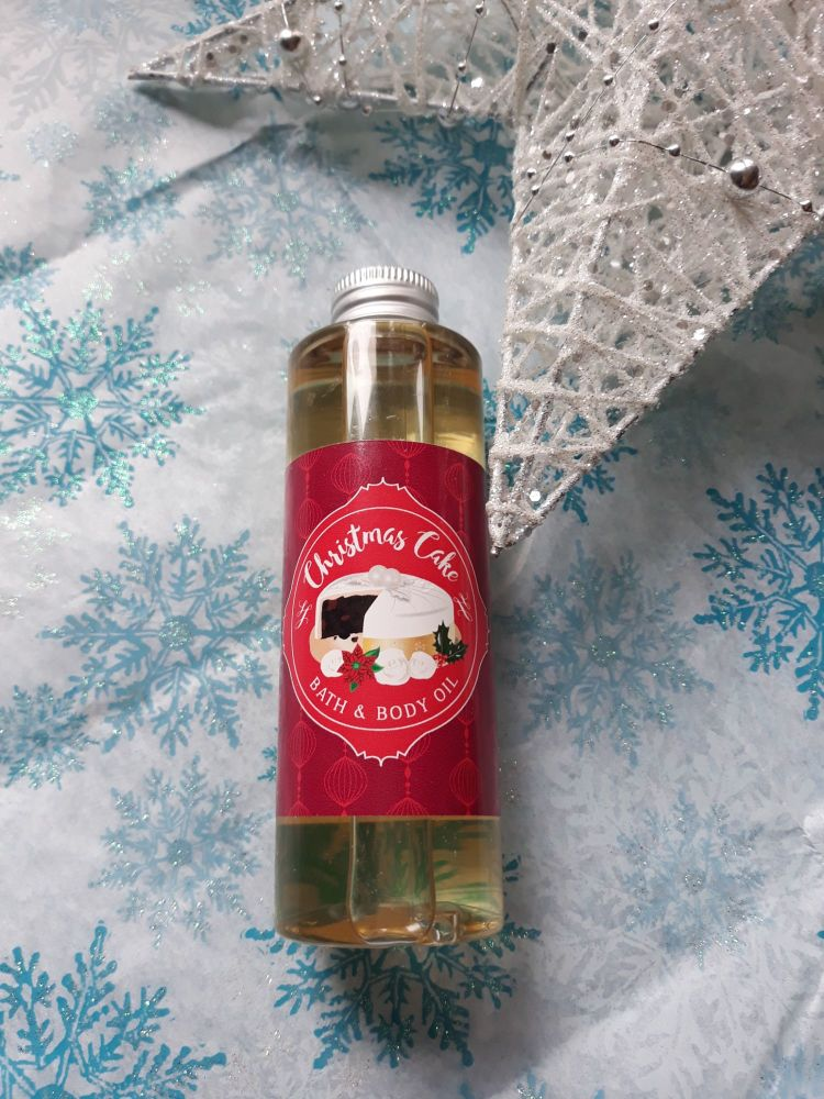 Bath & Body Oil - Christmas Cake