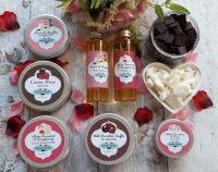 Cocoa Rose Facial and White Chocolate & Raspberry Treatment Box
