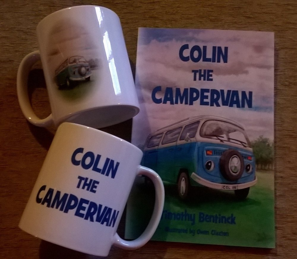 Colin the Campervan Gift Set